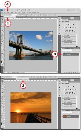 Перенос цветовых тонов с одного изображения на другое