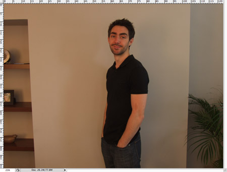 Коррекция желтой фотографии в фотошоп