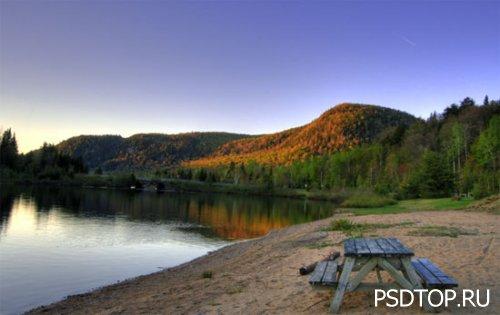 Фотографии пейзажа - Основы редактирования в Фотошоп